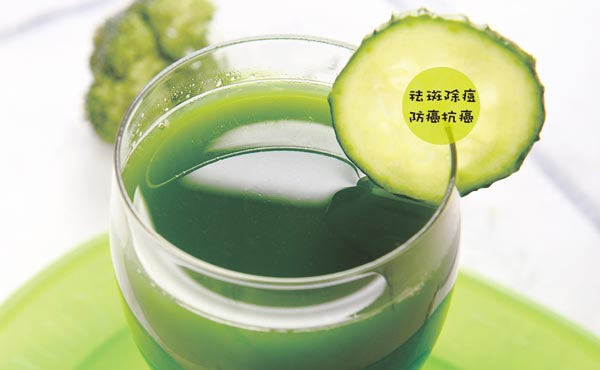 【五臟排毒一身輕】綠花椰黃瓜汁