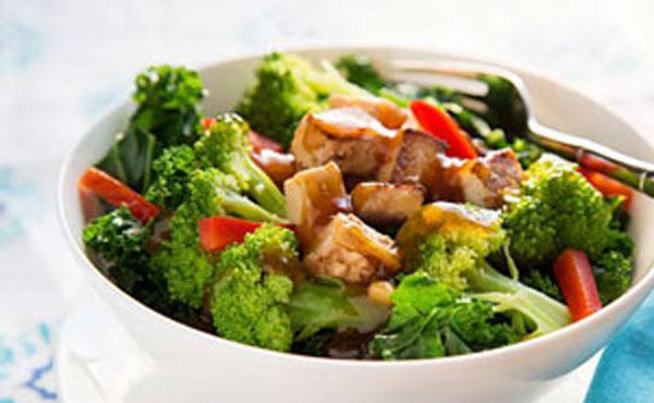 【每日第一餐】史黛拉藍調炒豆腐
