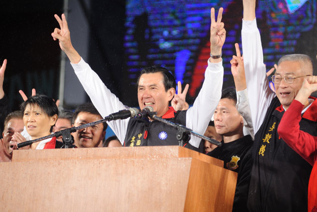 Ma Re-elected, Faces Huge Challenges