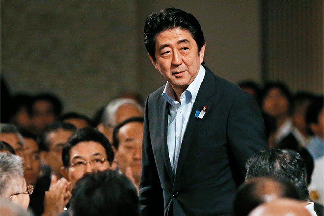 Abe's Battle between Head and Heart