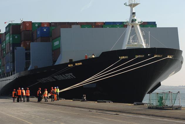 長榮海運 挑戰世界前三大