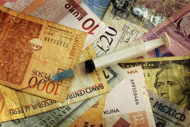 各國政府缺錢,拼經濟得靠毒品和賣淫?