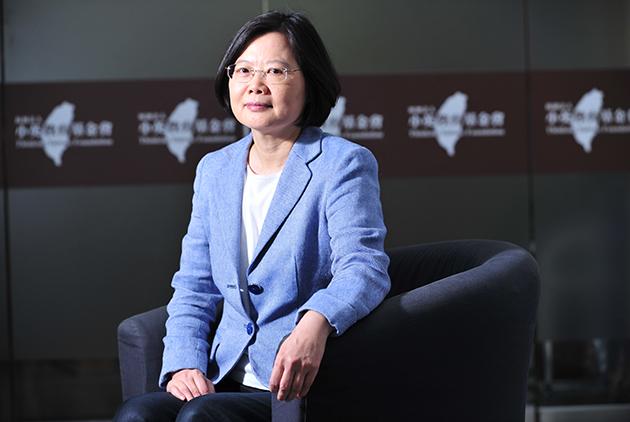 獨家專訪/蔡英文:台灣經濟發展不該再獨厚有錢人