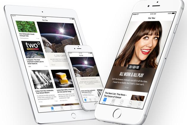 繼臉書之後,蘋果也要推新聞應用程式「News」