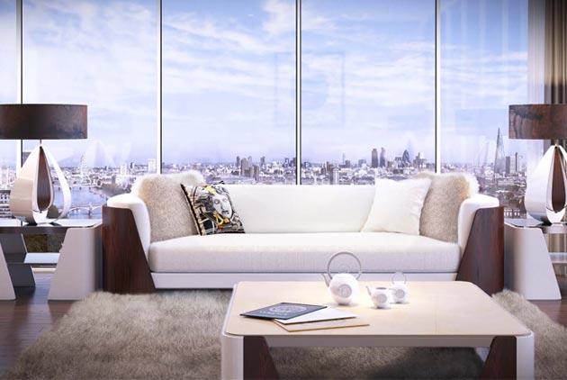 Versace跨界室內設計 打造倫敦真豪宅