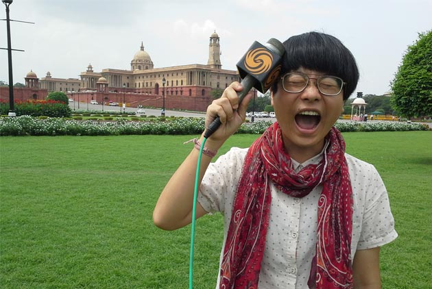 勇闖印度蘑菇頭女記者:台灣把自己看小了