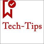 【科技X工作】Tech-Tips@提升工作效率