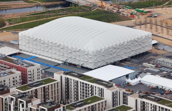 倫敦奧運籃球場