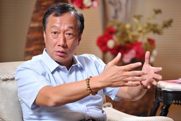 郭台銘:兩岸和平穩定,難道不重要嗎?