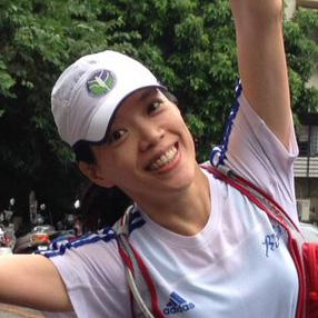 「跑步學堂」教練、內湖社大健康自信慢跑班導師/陳真娟