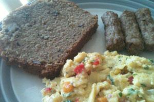 徵稿活动/如珮的早餐食谱:彩蔬起司蛋