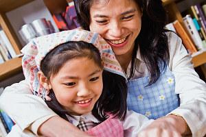 親子一起做蔬菜煎餃 水餃變鍋貼