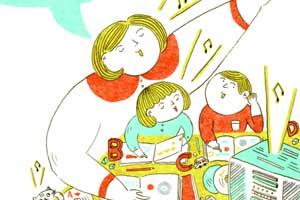 直接聽英文有聲書,沒有中文翻譯,孩子怎麼聽得懂?