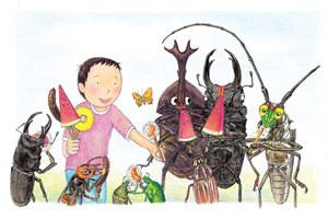 【昆蟲森林】系列 結合生活文化的昆蟲圖鑑繪本