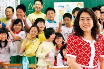 台北市三民國小徐明珠 用愛幫助特殊同學融入教室