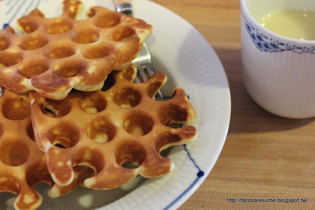 【お料理】自己做鬆餅粉,好吃無添加!