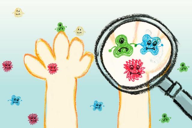 黃瑽寧:兒童蕁麻疹 感染才是禍首