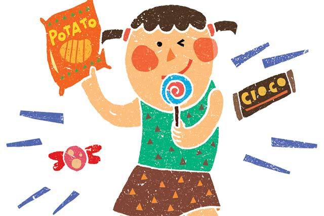 零食的人工色素容易讓孩子過動、注意力不集中