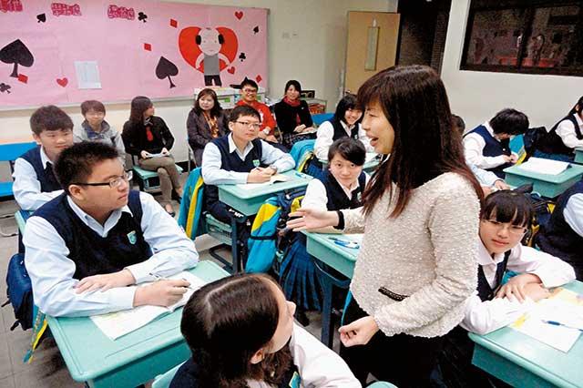 薇閣高中  讓孩子能動、能靜、能讀書