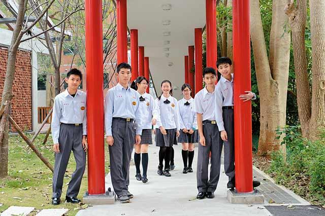華興中學 校園美景超越名校魅力