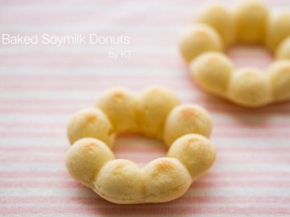 低卡烤箱幼兒點心 - 豆乳波提甜甜圈