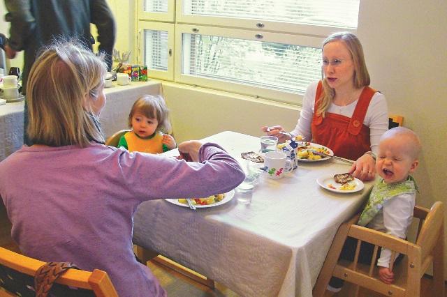芬蘭家庭聚會所 育兒不必單打獨鬥