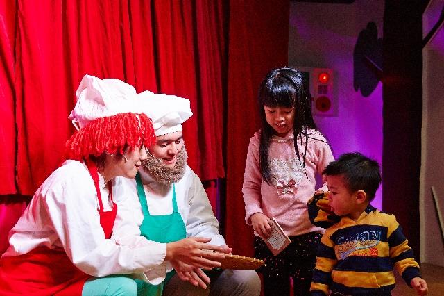 聖誕小小孩 學習付出分享愛