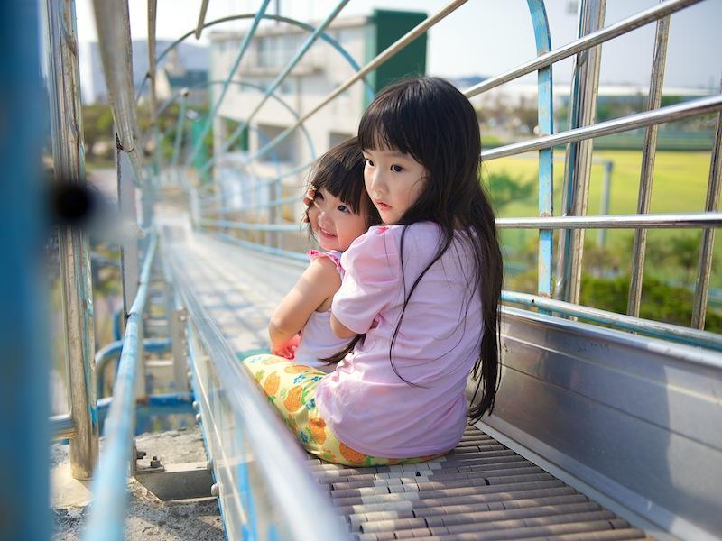 沖繩親子就要這樣玩:西崎運動公園超長溜滑梯