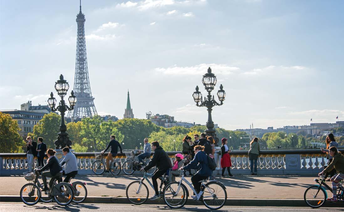 把浪漫還給巴黎,「無車日」已成趨勢:花都生活不只要效率,更要品質