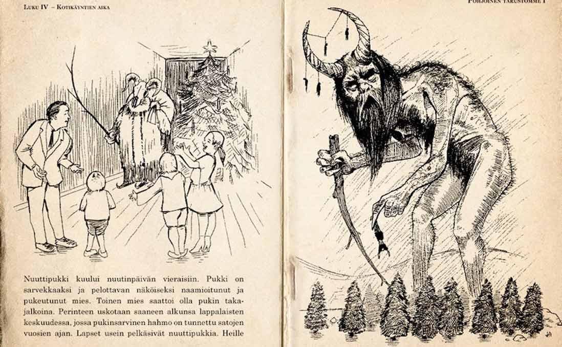 聖誕節的「暗黑史」──顛覆想像的「芬蘭版聖誕老人」Joulupukki