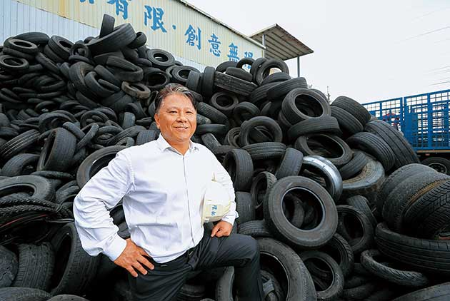 Spinning Waste into New Tires Raises Global Interest