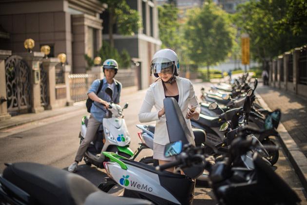 單車共享還不夠 台北連電動機車也要玩共...