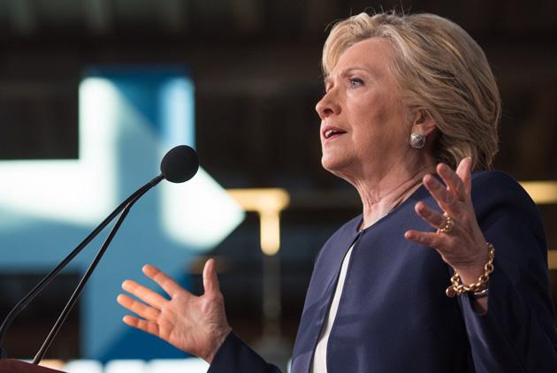 希拉蕊•柯林頓:有形象硬傷的務實家