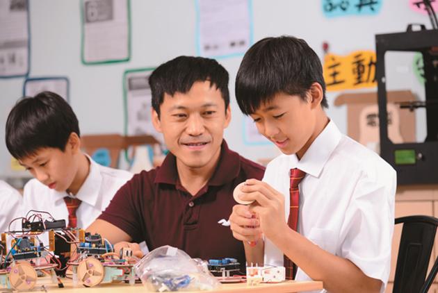 康橋雙語學校以多元、創新、國際視野,建...