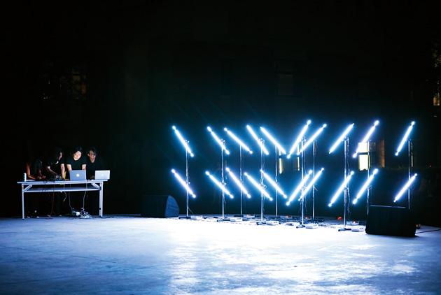 為劉德華演唱會 灑天光、造雲浪