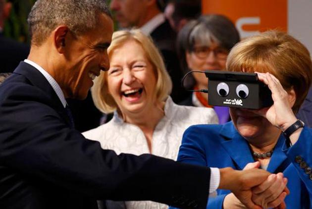 歐巴馬柏林告別訪問:沒有淚水 誇讚多多