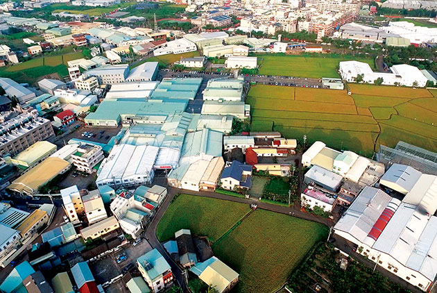Taiwan's Industrial Land Crisis