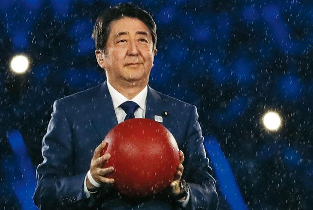 時代寵兒安倍 給日本定心丸