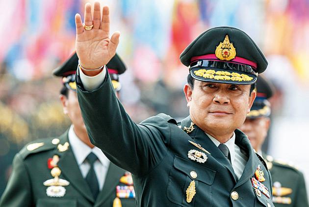 泰國局勢 軍人比王室重要