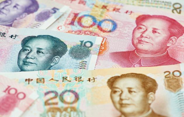 資本正在流出中國