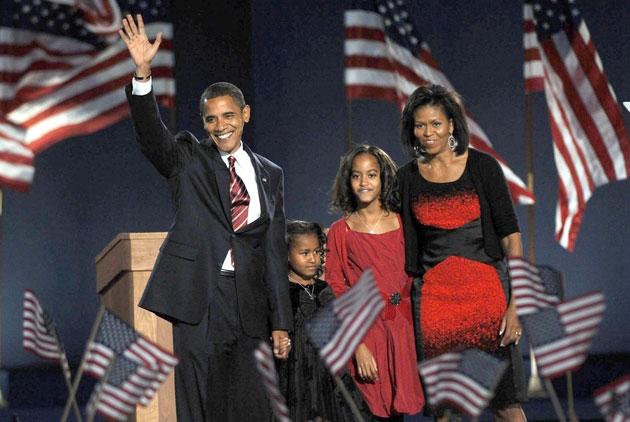布希姊妹致信歐巴馬女兒 鼓勵她們做自己
