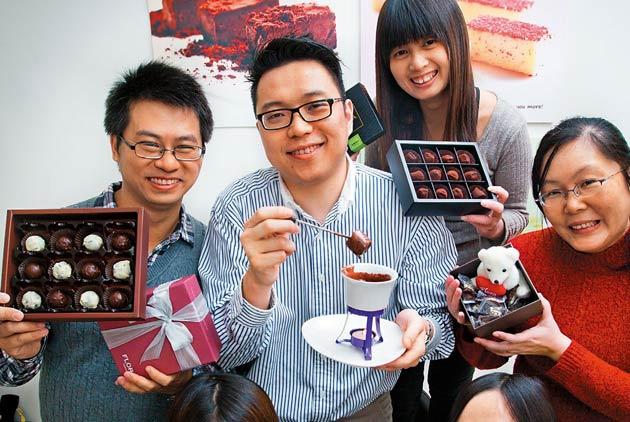 優質平價 打造巧克力夢工廠