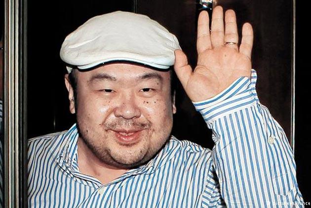 金正恩長兄金正男昨在馬來西亞遇害