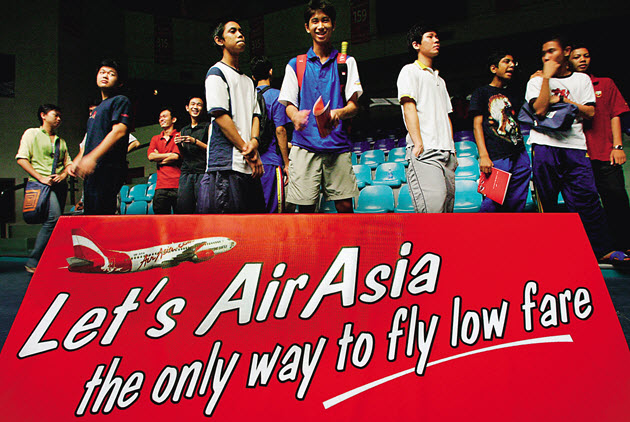Air Asia – Now Everyone Can Fly