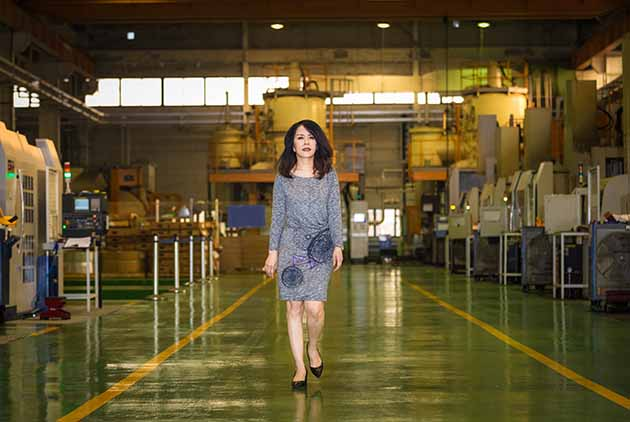 The Heroine of Taiwan's Aviation Industry
