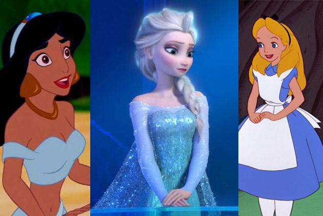 為什麼迪士尼的公主都穿藍色?