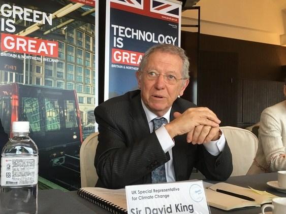 英國氣候變遷代表:台灣減碳商機,比高科技產業還要大