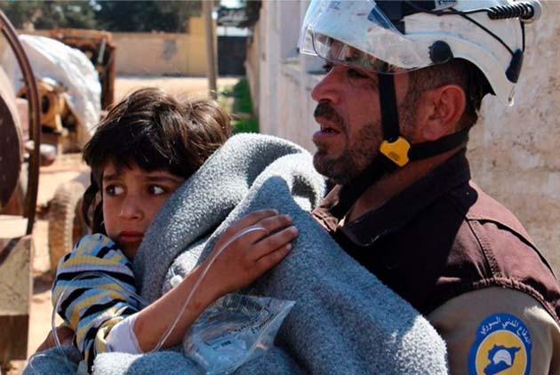 敘利亞倖存者 回憶沙林毒氣的痛