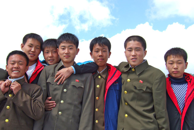 在北韓當兵是什麼樣子