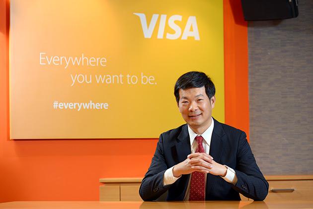 Visa台灣區總經理麻少華:我們的使命,是提供安全、便利的金流服務